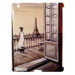 Paws For Thought  Paris Apple Ipad 3/4 Hardshell Case (compatible With Smart Cover) by ArtByThree