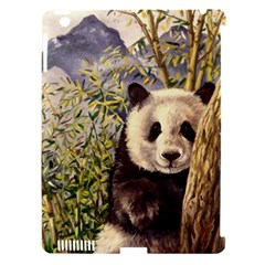 Panda Apple Ipad 3/4 Hardshell Case (compatible With Smart Cover) by ArtByThree
