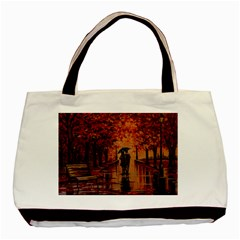 Unspoken Love  Basic Tote Bag by ArtByThree
