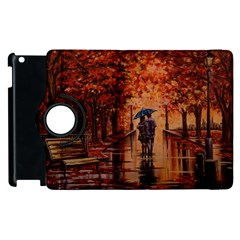 Unspoken Love  Apple Ipad 3/4 Flip 360 Case by ArtByThree