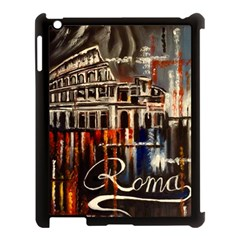 Rome Apple Ipad 3/4 Case (black) by ArtByThree