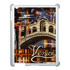 Venice Rialto Bridge Apple Ipad 3/4 Case (white) by ArtByThree