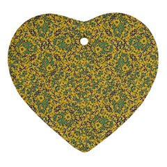Modern Abstract Ornate Pattern Ornament (heart)  by dflcprints