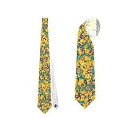 Modern Abstract Ornate Pattern Neckties (two Side)  by dflcprints