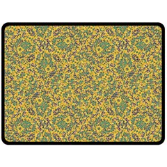 Modern Abstract Ornate Pattern Double Sided Fleece Blanket (large)  by dflcprints
