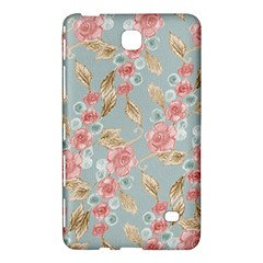 Background Page Template Floral 2 Samsung Galaxy Tab 4 (7 ) Hardshell Case  by Zeze