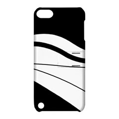 White And Black Harmony Apple Ipod Touch 5 Hardshell Case With Stand by Valentinaart