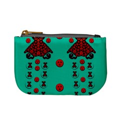 Dancing In Polka Dots Mini Coin Purses by pepitasart