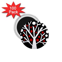 Simply Decorative Tree 1 75  Magnets (100 Pack)  by Valentinaart