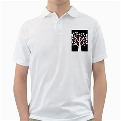 Simply Decorative Tree Golf Shirts by Valentinaart