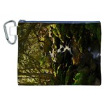 Forest Stream - Canvas Cosmetic Bag (XXL)