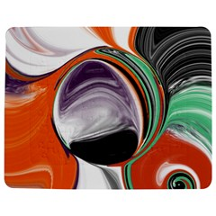 Abstract Orb in Orange, Purple, Green, and Black Jigsaw Puzzle Photo Stand (Rectangular) by theunrulyartist