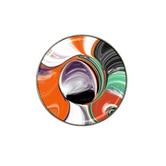 Abstract Orb Hat Clip Ball Marker (4 Pack) by theunrulyartist
