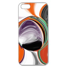Abstract Orb Apple Seamless Iphone 5 Case (clear) by theunrulyartist