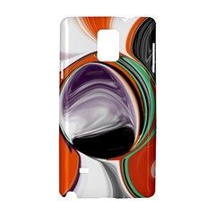 Abstract Orb Samsung Galaxy Note 4 Hardshell Case by theunrulyartist