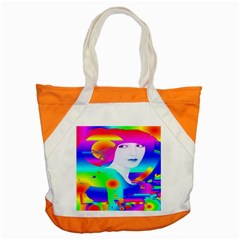 Abstract Color Dream Accent Tote Bag by icarusismartdesigns