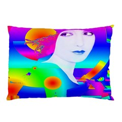 Abstract Color Dream Pillow Case by icarusismartdesigns