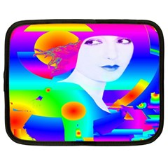 Abstract Color Dream Netbook Case (xxl)  by icarusismartdesigns
