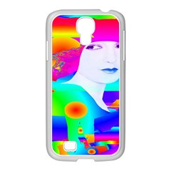 Abstract Color Dream Samsung Galaxy S4 I9500/ I9505 Case (white) by icarusismartdesigns