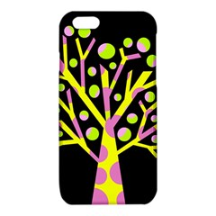 Simple colorful tree iPhone 6/6S TPU Case by Valentinaart