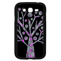 Purple Magical Tree Samsung Galaxy Grand Duos I9082 Case (black) by Valentinaart