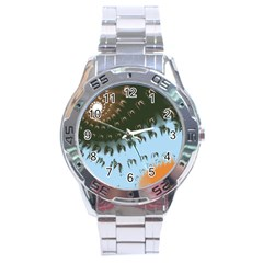 Sunraypil Stainless Steel Analogue Watch