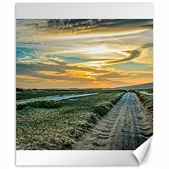 Jericoacoara National Park Dunes Road Canvas 8  x 10  by dflcprints