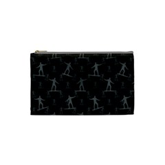 Surfing Motif Pattern Cosmetic Bag (small)  by dflcprints