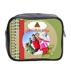 Xmas By 2016   Mini Toiletries Bag (two Sides)   Reiu59w8us68   Www Artscow Com Back