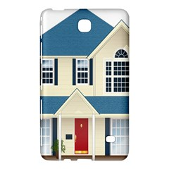 House Residence Blue Samsung Galaxy Tab 4 (7 ) Hardshell Case  by Zeze