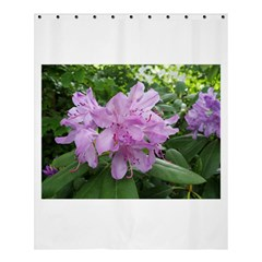 Purple Rhododendron Flower Shower Curtain 60  X 72  (medium)  by picsaspassion