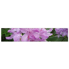 Purple Rhododendron Flower Flano Scarf (Small) by picsaspassion