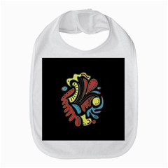 Colorful Abstract Spot Bib by Valentinaart