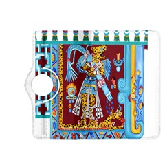 Mexico Puebla Mural Ethnic Aztec Kindle Fire HDX 8.9  Flip 360 Case by Zeze