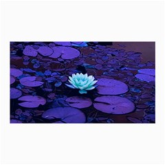 Lotus Flower Magical Colors Purple Blue Turquoise Collage Prints by yoursparklingshop
