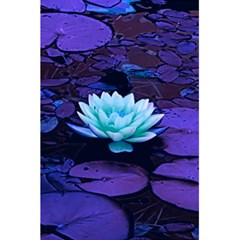 Lotus Flower Magical Colors Purple Blue Turquoise 5 5  X 8 5  Notebooks by yoursparklingshop