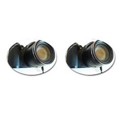 My Camera Cufflinks (oval) by picsaspassion