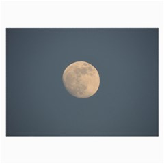 The Moon And Blue Sky Large Glasses Cloth (2 Side) by picsaspassion