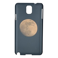 The Moon And Blue Sky Samsung Galaxy Note 3 N9005 Hardshell Case by picsaspassion