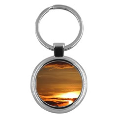 Summer Sunset Key Chains (round)  by picsaspassion