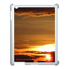 Summer Sunset Apple Ipad 3/4 Case (white) by picsaspassion