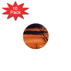 Tree Branches And Sunset 1  Mini Magnet (10 Pack)  by picsaspassion