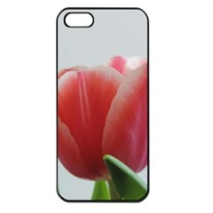 Red Tulips Apple Iphone 5 Seamless Case (black) by picsaspassion