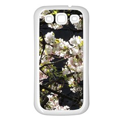 Blooming Japanese Cherry Flowers Samsung Galaxy S3 Back Case (white) by picsaspassion