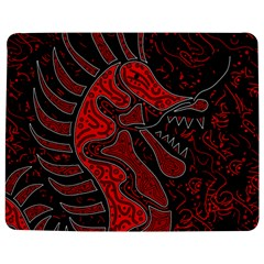 Red dragon Jigsaw Puzzle Photo Stand (Rectangular) by Valentinaart