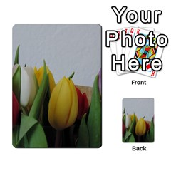 Colorful Bouquet Tulips Multi Purpose Cards (rectangle)  by picsaspassion