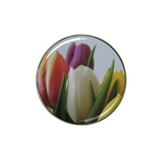Colored By Tulips Hat Clip Ball Marker by picsaspassion