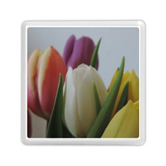 Colored By Tulips Memory Card Reader (square)  by picsaspassion