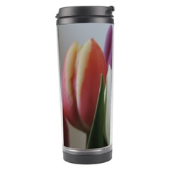 Colored By Tulips Travel Tumbler by picsaspassion