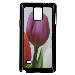 Tulip Spring Flowers Samsung Galaxy Note 4 Case (black) by picsaspassion